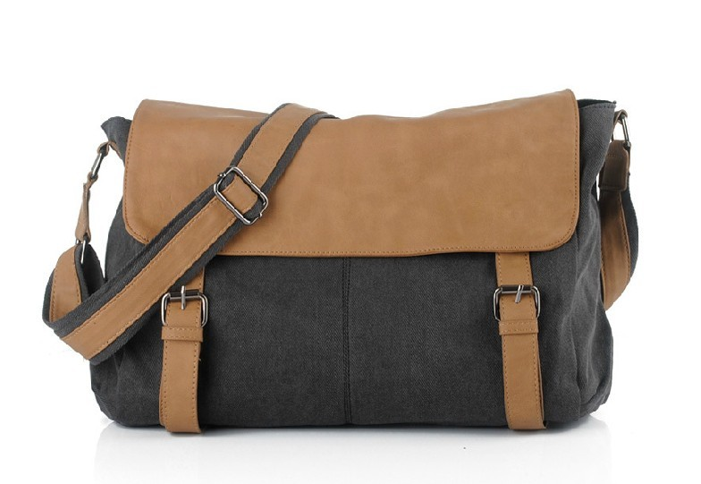 Man messenger bag, men shoulder bag - BagsEarth