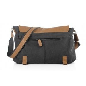 black Man messenger bag