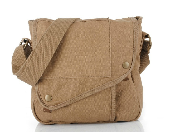 fb91cb11aa16 Men messenger bag · canvas messenger bag · khaki ...