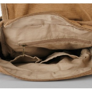 khaki Men messenger bag