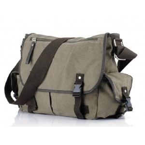 Canvas shoulder messenger bag, canvas messenger bag men