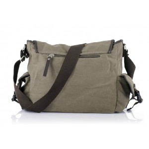 mens Canvas shoulder messenger bag