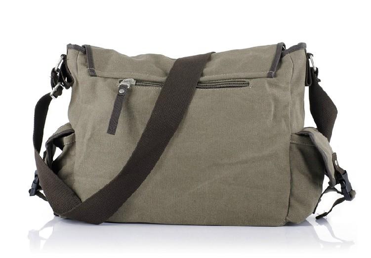 49df7c6e95f ... mens Canvas shoulder messenger bag ...