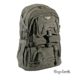 Army Green Canvas Computer Backpack