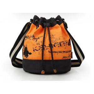 orange Messenger bag girls