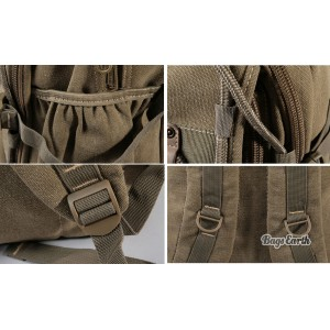 Canvas Laptop Rucksack
