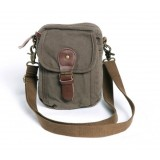 Black messenger bag for men