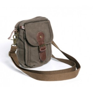 army green messenger bag for men