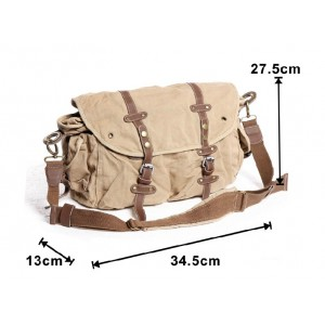 canvas Briefcase messenger bag