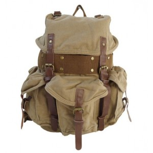 Rucksack backpack, recycled travel pack