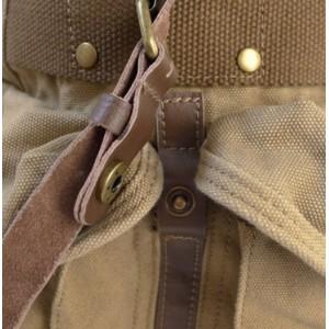 khaki Rucksack backpack