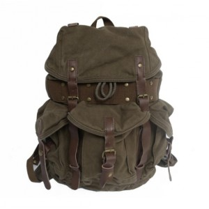 army green Rucksack backpack