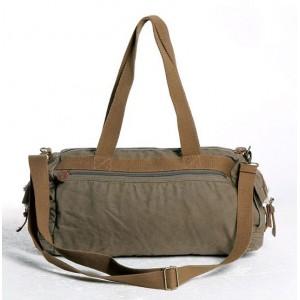Canvas leisure package, cross body messenger bag