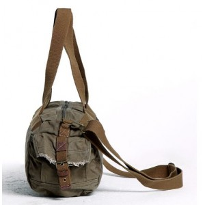 army green Canvas leisure package
