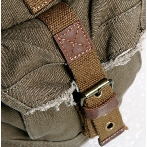 army green cross body messenger bag