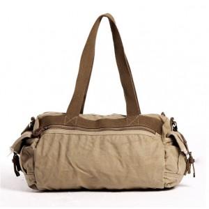 khaki cross body messenger bag