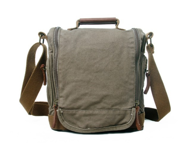 Canvas messenger bag women, eco friendly canvas messenger - BagsEarth