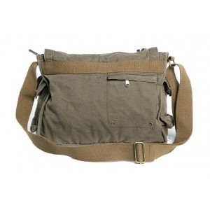 army green Flapover day bag