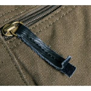 army green heavy duty canvas bag