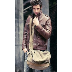 mens Flapover day bag
