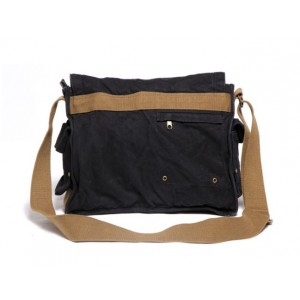 black Flapover day bag
