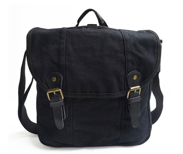 Medium messenger bag, mens canvas messenger bags - BagsEarth