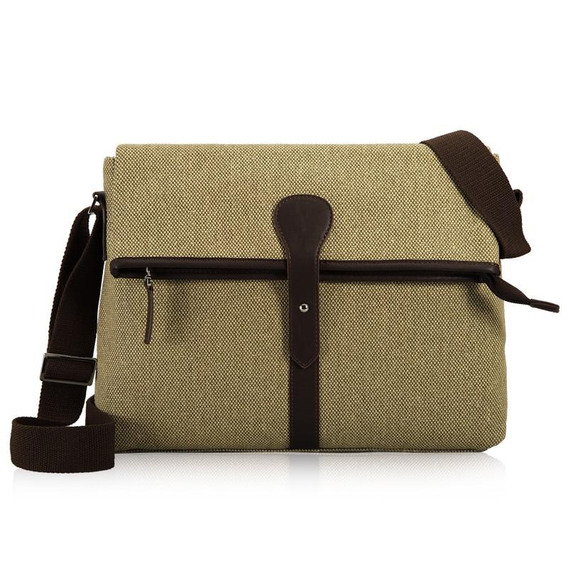 Khaki Canvas Ipad Shoulder Bag · Khaki Men s ... 750704f56ae68