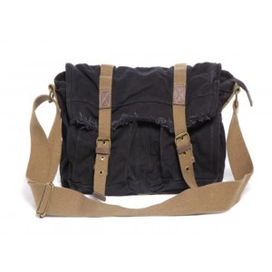 black Large canvas bag