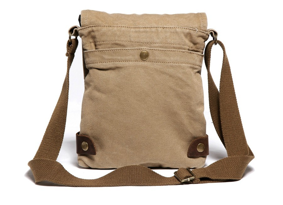 Small Canvas Shoulder Bags Mens Satchel