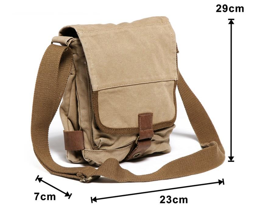 a4adda717c0 ... mens canvas satchel bags · khaki Small canvas shoulder bags ...