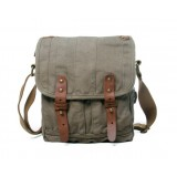 Canvas messenger bag for men, iPad canvas shoulder bag