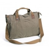 Military messenger bag, canvas messenger bag