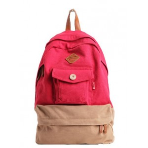 red satchel backpack