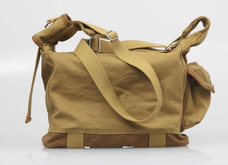 dabb5e9a2399 Canvas messenger bag · military canvas satchels · army green Canvas  messenger bag ...
