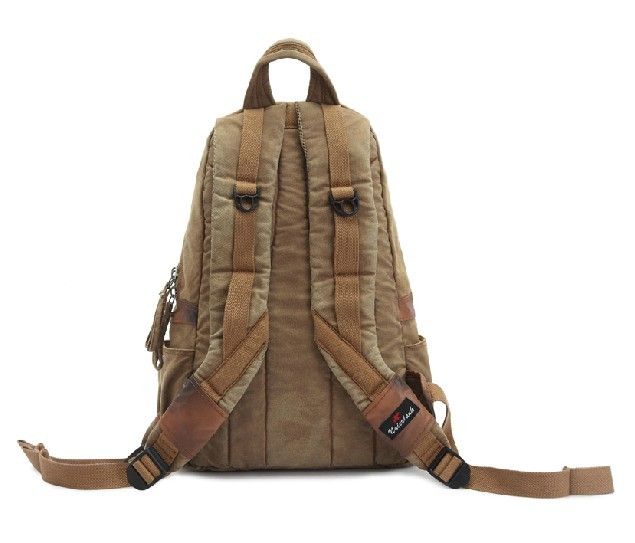 Canvas backpack for men, canvas rucksack backpack - BagsEarth