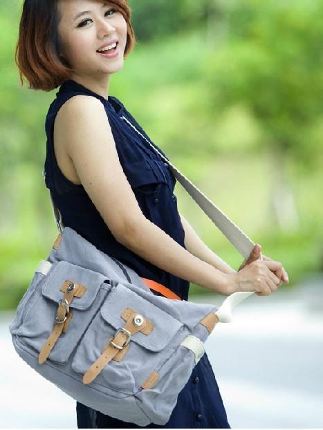 Girls Messenger Book Bags