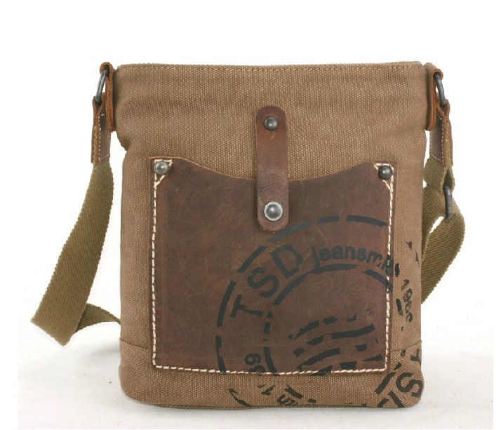 Men's day bag, lightweight messenger bag - BagsEarth