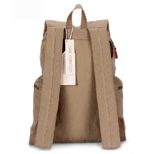 canvas school back pack