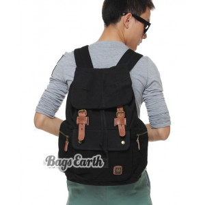 black school back pack