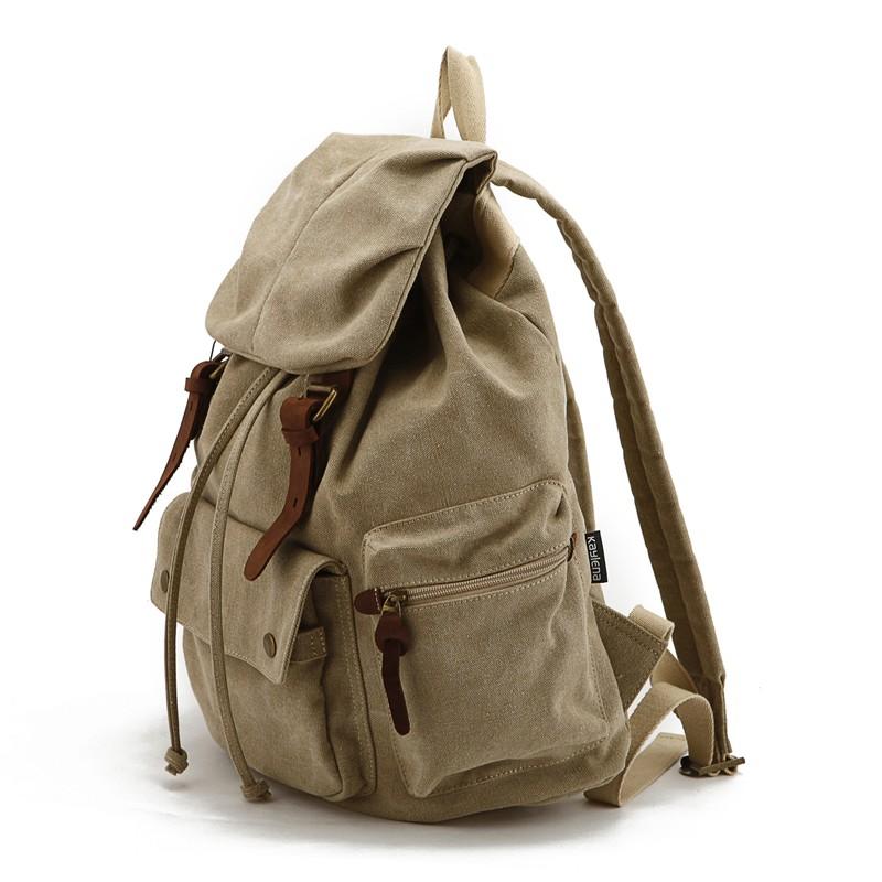 315285b8eab Khaki Waterproof canvas Rucksack · Khaki Canvas Rucksack · Khaki Waterproof  Rucksack · Khaki School backpack · Army Green ...