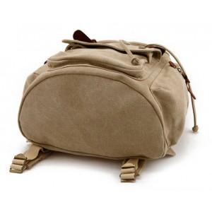 Khaki School backpack