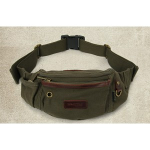 army green Travel waist pack