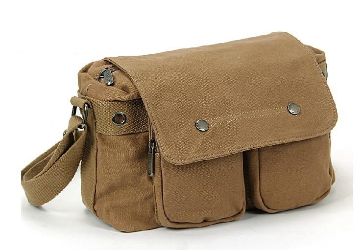 Canvas messenger bags for men, canvas shoulder bag men - BagsEarth a4504babad