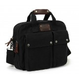 Canvas computer bag, canvas briefcase