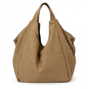 khaki Girls tote bag
