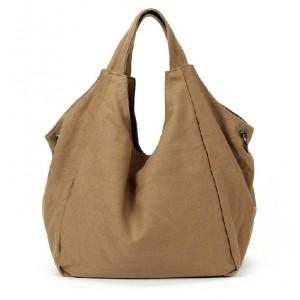 khaki Girls tote bag