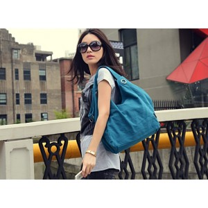 blue hobo handbag cheap