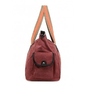 red Messenger bag college