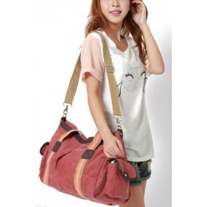 canvas Messenger bag college