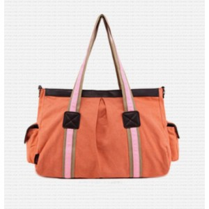 orange Messenger bag college
